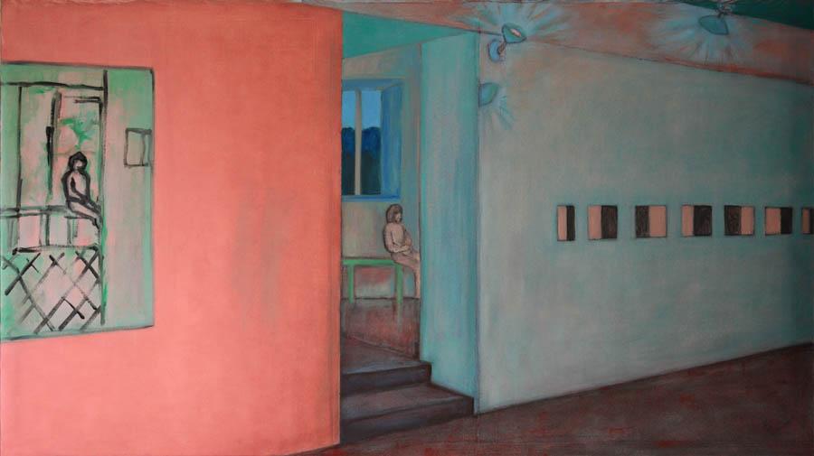 SALA XIX, schilderij 2021 120x70cm