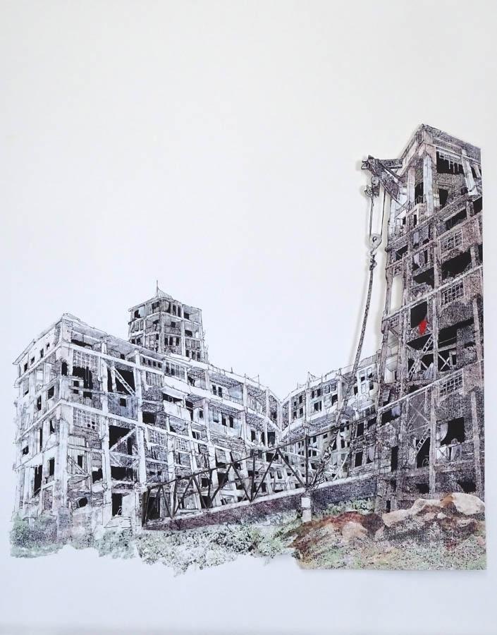 memelisht4, 2018, print-tekening, 77 x 97 cm