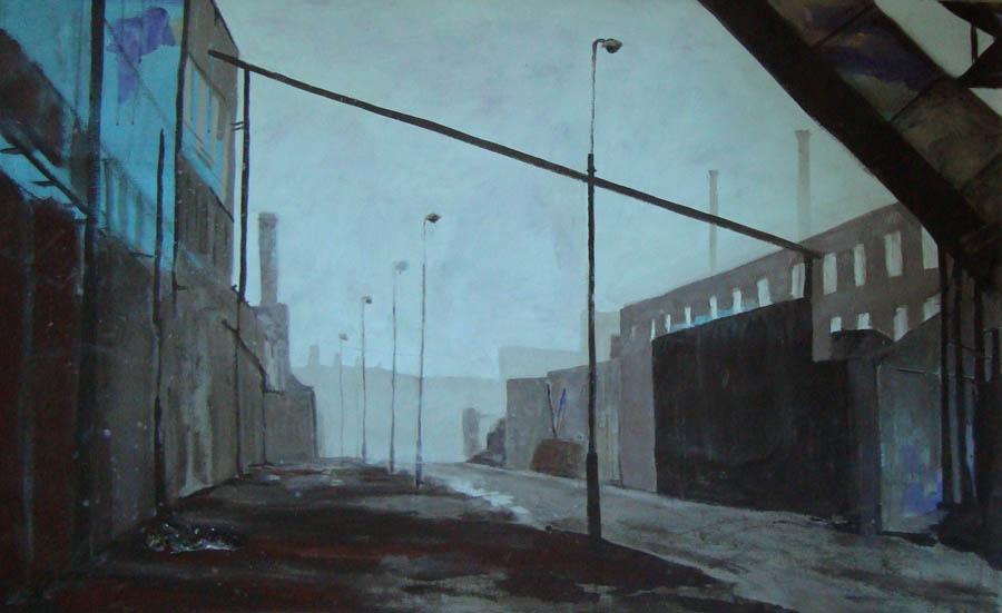 Dublin coalstorage, 140 x 100 cm